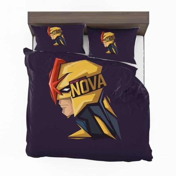 Nova Corps Marvel Comics Marvel Comics Bedding Set