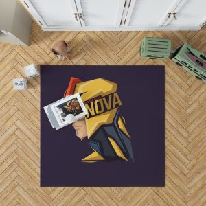 Nova Corps Marvel Comics Marvel Comics Bedroom Living Room Floor Carpet Rug