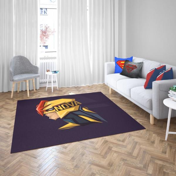 Nova Corps Marvel Comics Marvel Comics Bedroom Living Room Floor Carpet Rug