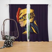 Nova Corps Marvel Comics Marvel Comics Bedroom Window Curtain