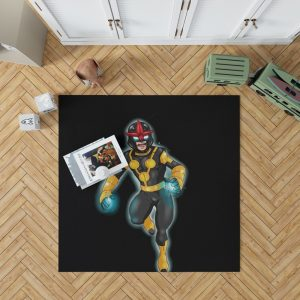 Nova Defenders Marvel Comics Bedroom Living Room Floor Carpet Rug