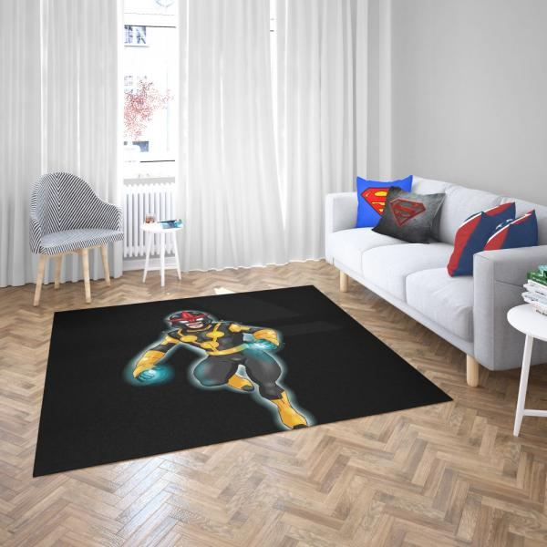 Nova Defenders Marvel Comics Bedroom Living Room Floor Carpet Rug