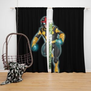 Nova Defenders Marvel Comics Bedroom Window Curtain