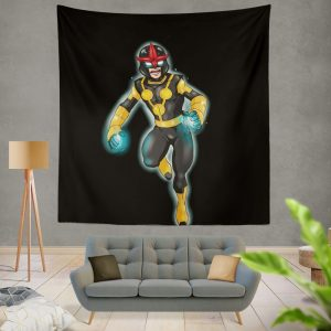 Nova Defenders Marvel Comics Wall Hanging Tapestry