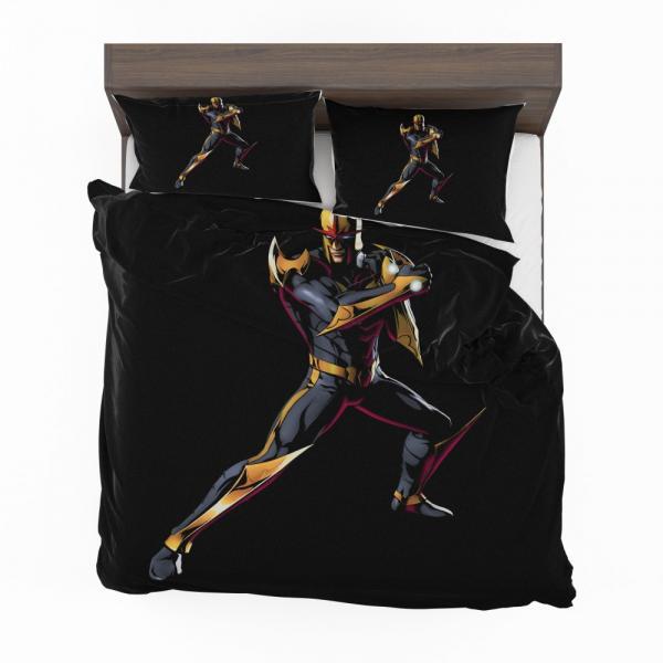 Nova New Warriors Marvel Comics Bedding Set