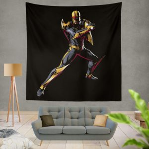 Nova New Warriors Marvel Comics Wall Hanging Tapestry