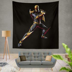 Nova New Warriors Marvel Comics Wall Hanging Tapestry