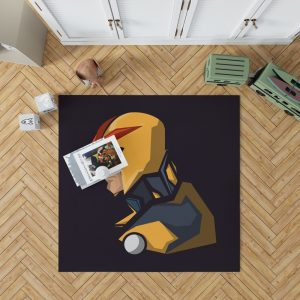 Nova Secret Avengers Marvel Comics Bedroom Living Room Floor Carpet Rug
