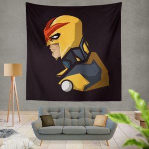 Nova Secret Avengers Marvel Comics Wall Hanging Tapestry