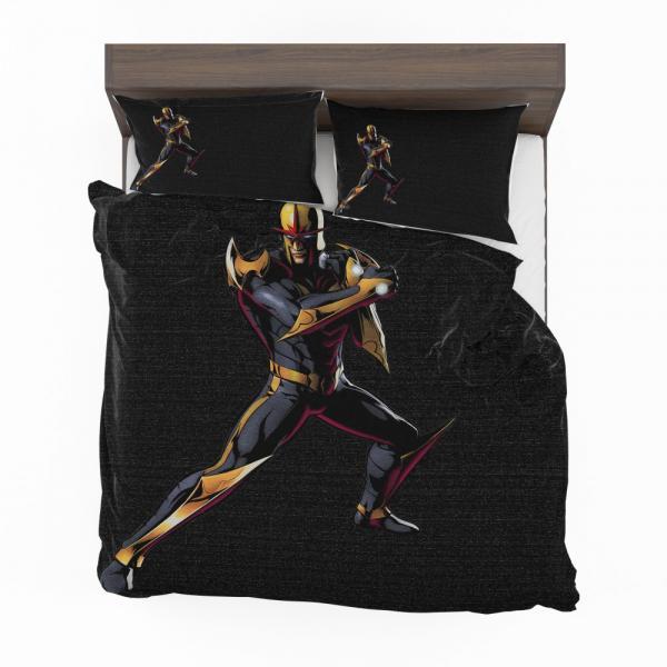Nova United Front Marvel Comics Bedding Set