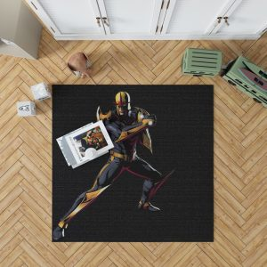 Nova United Front Marvel Comics Bedroom Living Room Floor Carpet Rug