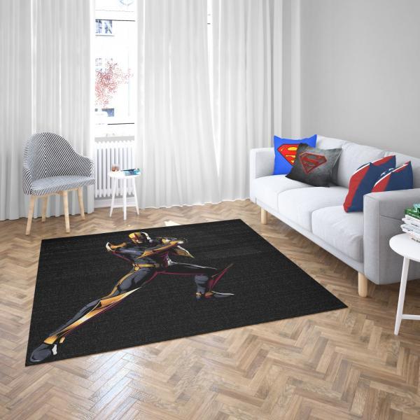 Nova United Front Marvel Comics Bedroom Living Room Floor Carpet Rug