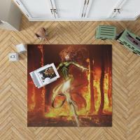 Phoenix Comic in Marvel vs Capcom 3 Fate of Two Worlds Video Game Bedroom Living Room Floor Carpet Rug