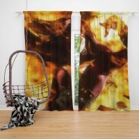 Phoenix Jean Gray Marvel Comics Bedroom Window Curtain