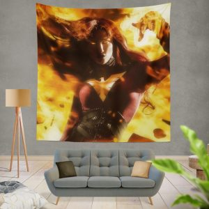 Phoenix Jean Gray Marvel Comics Wall Hanging Tapestry