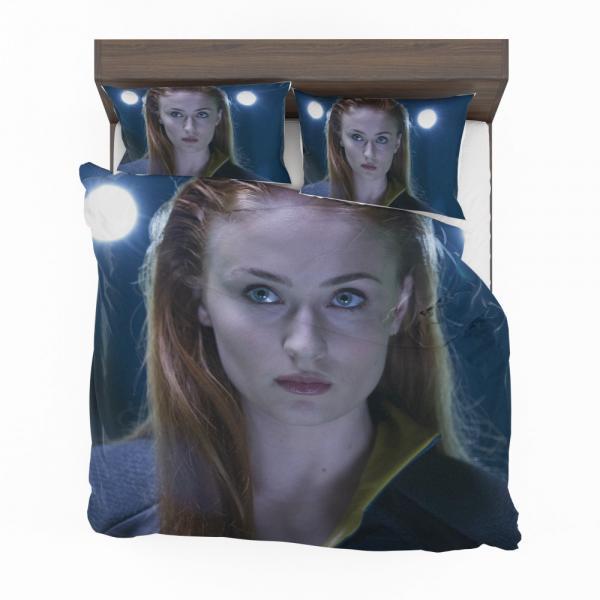 Phoenix Sophie Turner X-Men Apocalypse Jean Grey Marvel Bedding Set