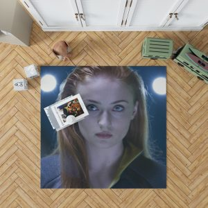 Phoenix Sophie Turner X-Men Apocalypse Jean Grey Marvel Bedroom Living Room Floor Carpet Rug