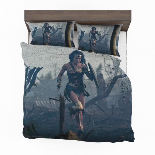 Prince Diana Wonder Woman Movie Gal Gadot Bedding Set