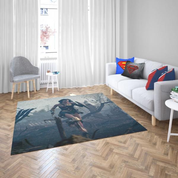 Prince Diana Wonder Woman Movie Gal Gadot Bedroom Living Room Floor Carpet Rug