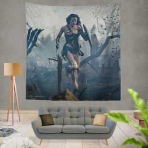 Prince Diana Wonder Woman Movie Gal Gadot Wall Hanging Tapestry