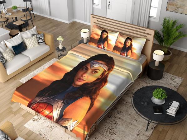 Princess Diana of Themyscira Wonder Woman Gal Gadot Bedding Set