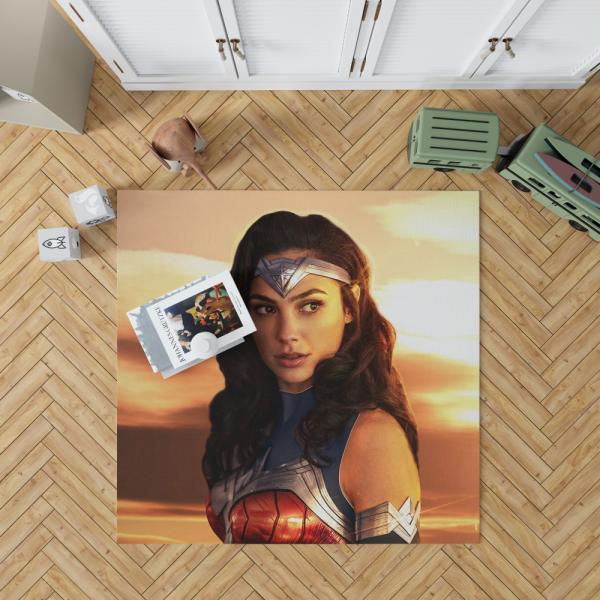 Princess Diana of Themyscira Wonder Woman Gal Gadot Bedroom Living Room Floor Carpet Rug