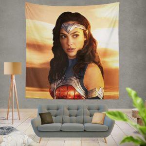 Princess Diana of Themyscira Wonder Woman Gal Gadot Wall Hanging Tapestry