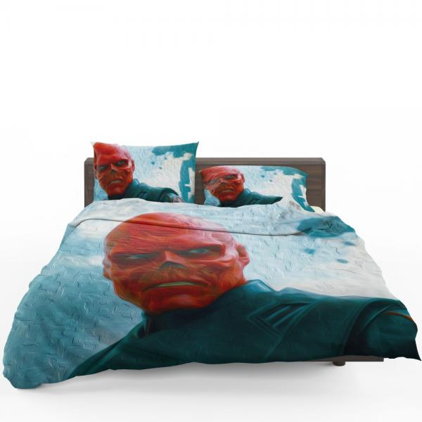 RED SKULL in Marvel Captain America The First Avenger Movie Bedding Set