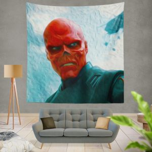 RED SKULL in Marvel Captain America The First Avenger Movie Wall Hanging Tapestry