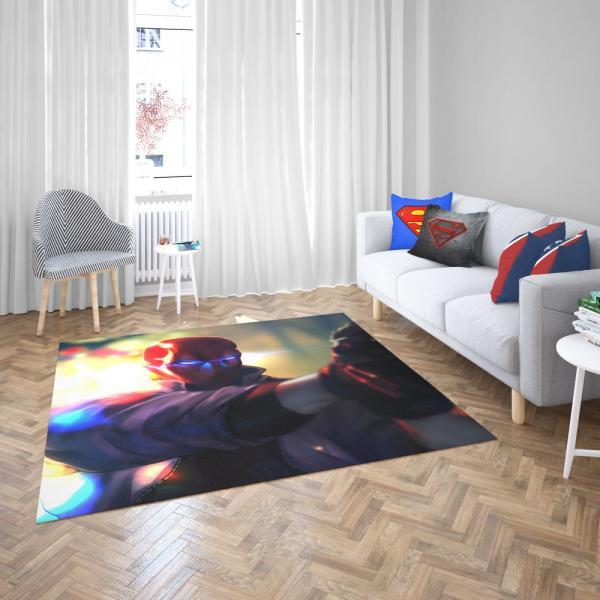 Red Hood DC Comics Super Hero Bedroom Living Room Floor Carpet Rug