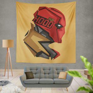 Red Hood Jason Todd DC Comics Wall Hanging Tapestry