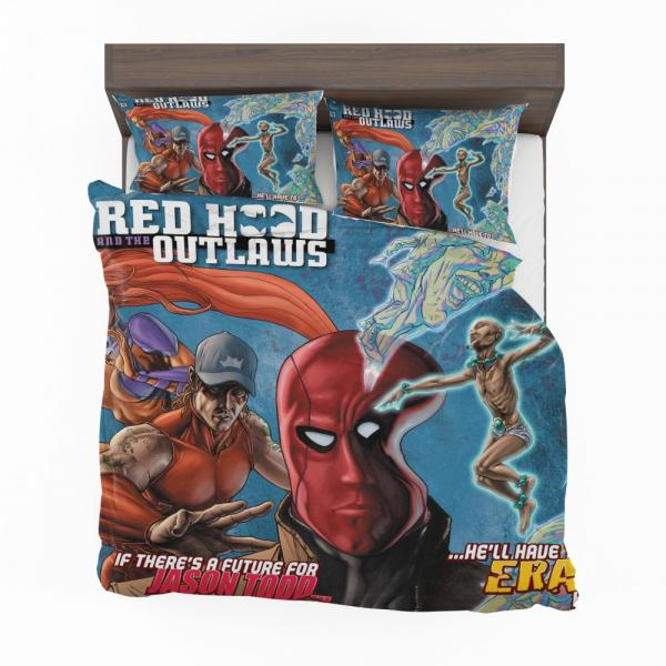 Red Hood and the Outlaws DC Comics Bedding Set