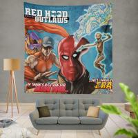 Red Hood and the Outlaws DC Comics Wall Hanging Tapestry