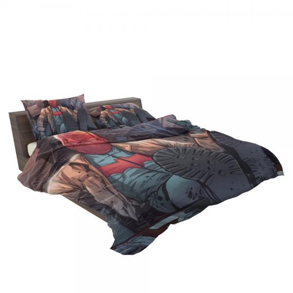 Red Hood and the Outlaws Jason Todd Batman DC Comics Bedding Set