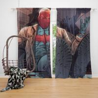 Red Hood and the Outlaws Jason Todd Batman DC Comics Bedroom Window Curtain