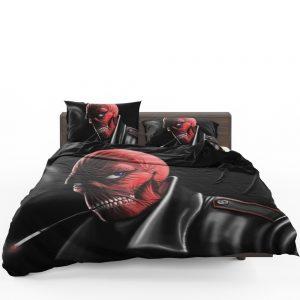 Red Skull Nazi Germany HYDRA Marvel Comics Bedding Set