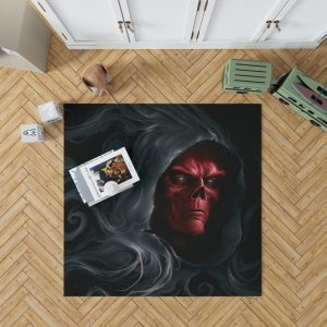 Red Skull in Marvel Avengers Infinity War Movie Bedroom Living Room Floor Carpet Rug