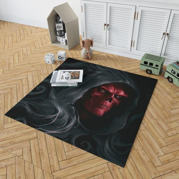 Red Skull in Marvel Avengers Infinity War Movie Bedroom Living Room Floor Carpet Rug