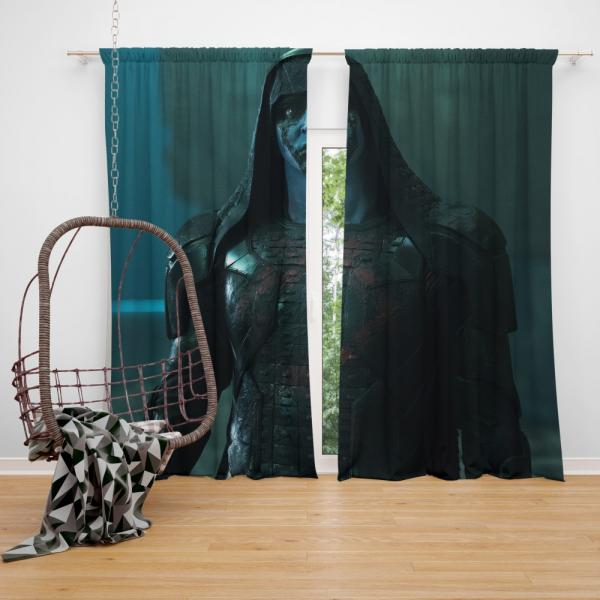 Ronan the Accuser Guardians of the Galaxy Lee Pace Marvel Bedroom Window Curtain