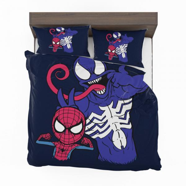 Spider Man & Venom Marvel MCU Artwork Bedding Set