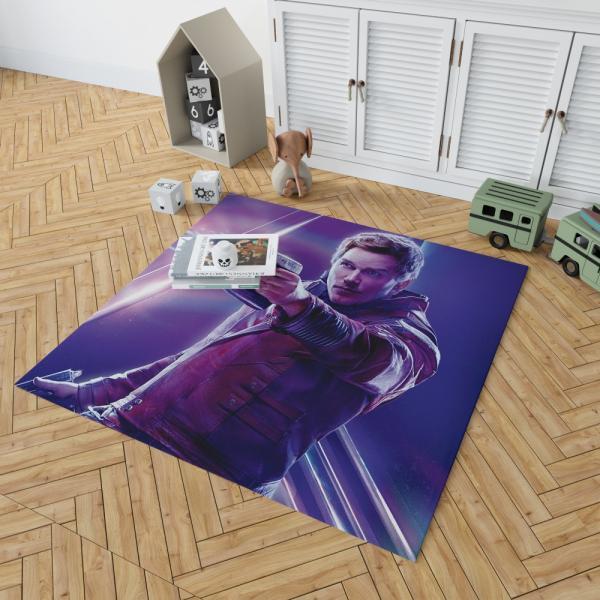 Star Lord Avengers Infinity War Movie Peter Quill Bedroom Living Room Floor Carpet Rug