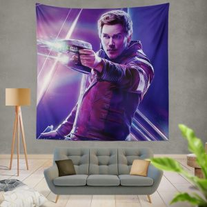 Star Lord Avengers Infinity War Movie Peter Quill Wall Hanging Tapestry
