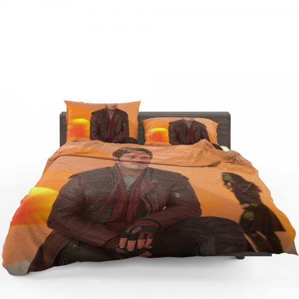 Star Lord Chris Pratt Guardians of the Galaxy Vol 2 Movie Bedding Set