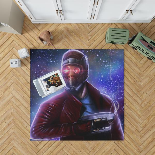 Star Lord Guardians of the Galaxy Artwork Peter Quill Bedroom Living Room Floor Carpet Rug