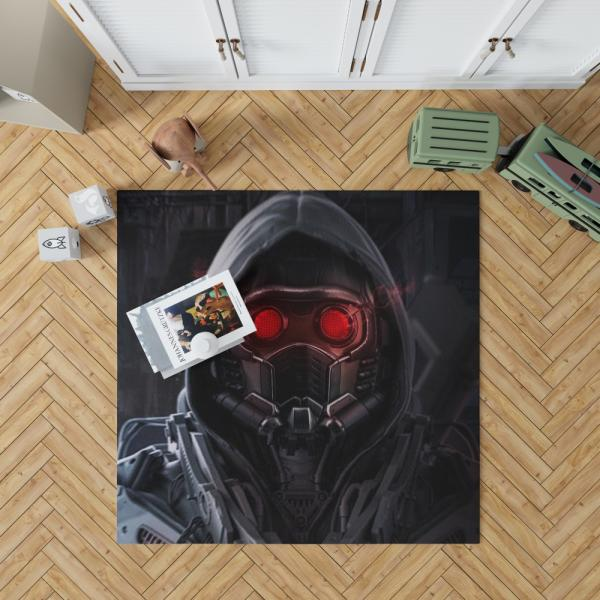 Star Lord Marvel Comics Guardians of the Galaxy Artwork Bedroom Living Room Floor Carpet Rug