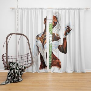 Storm Fantastic Four Marvel Bedroom Window Curtain