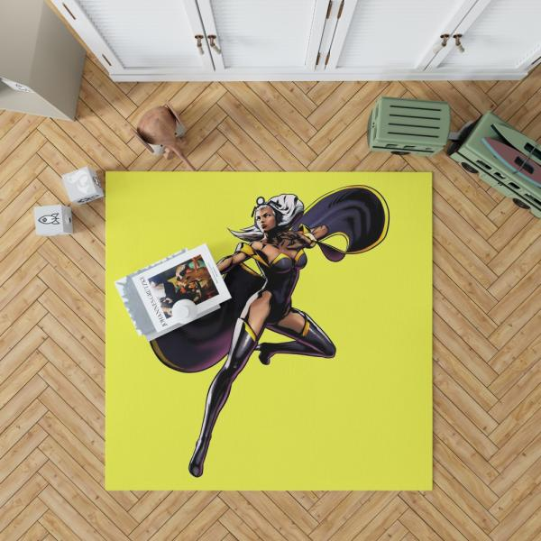 Storm Marvel Lady Liberators Bedroom Living Room Floor Carpet Rug