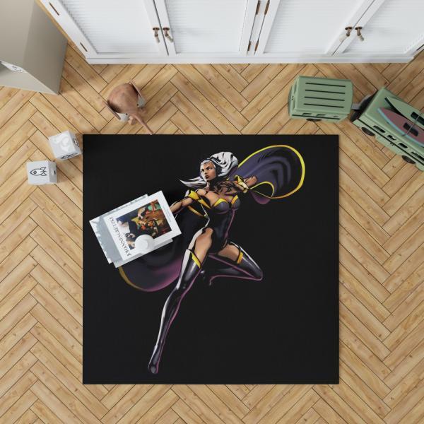 Storm in Morlocks Marvel Comics Bedroom Living Room Floor Carpet Rug