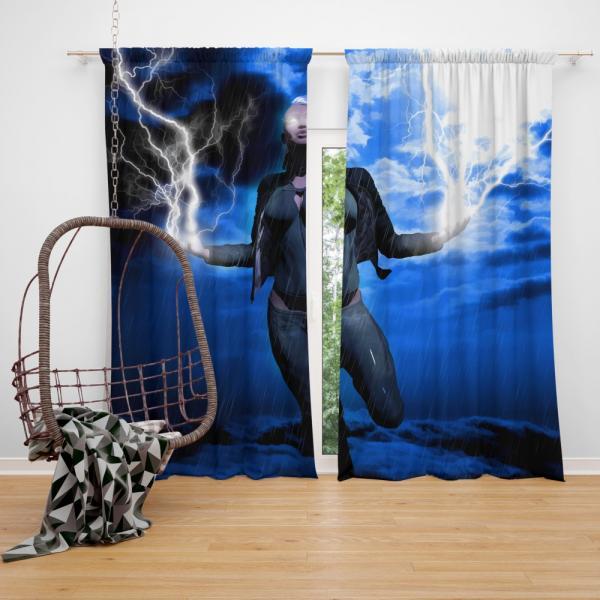 Storm in X-Men Phoenix Comics Bedroom Window Curtain