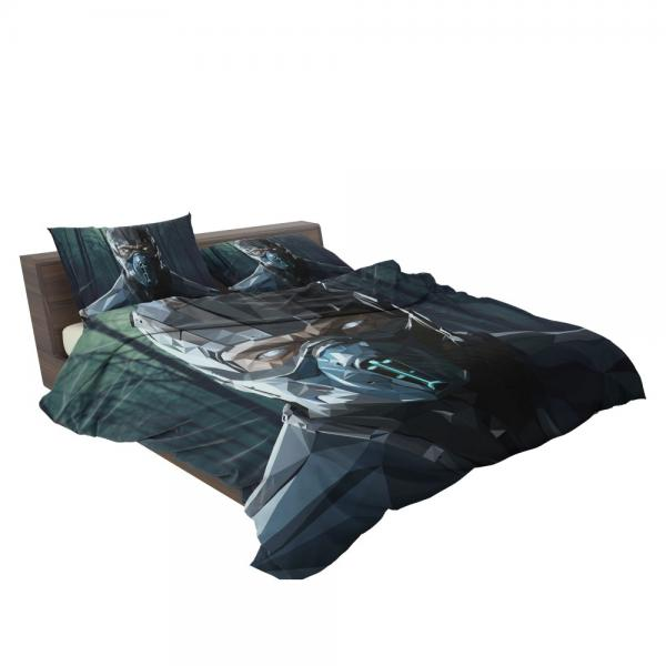 Sub Zero Bi-Han Mortal Kombat X Bedding Set